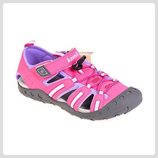 Kamik Damen Kinder Sandalen Pink Violett Crab, Schuhgröße:39 - Sandalen für frauen (*Partner-Link)