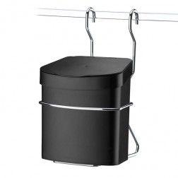 Lixeira para Barra de Cozinha em Aço Cromado - 5 Anos de Garantia