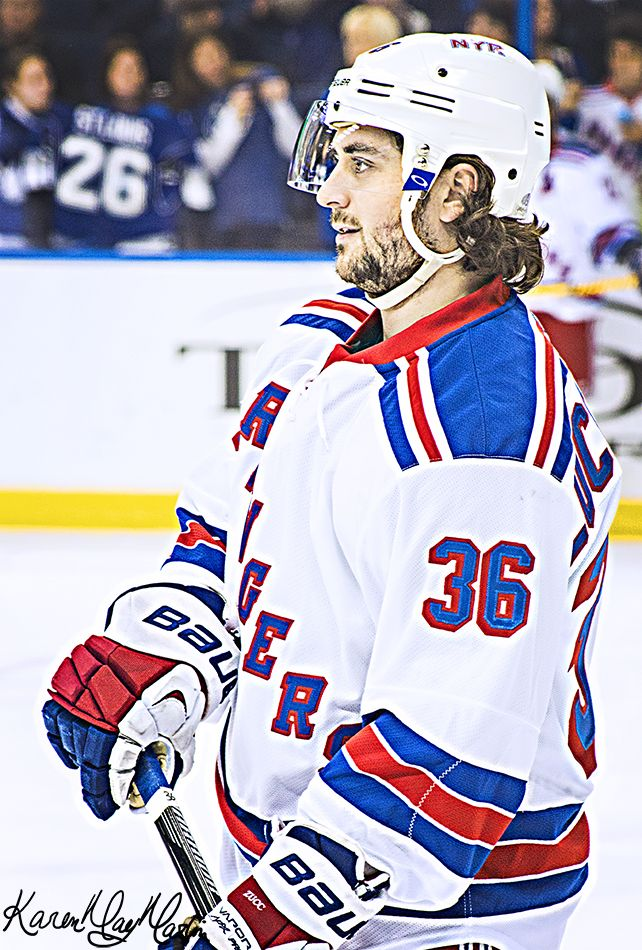 Mats Zuccarello- LADIES AND GENTELMEN RANGERS FANS OF ALL AGES MATTS IS BACK ON THE ICE!!!!!