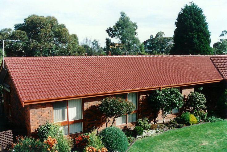Tile Roof Restoration - Heritage Red