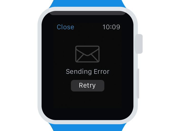 Mail.Ru for Apple Watch by Slava Yashkov for Mail.Ru
