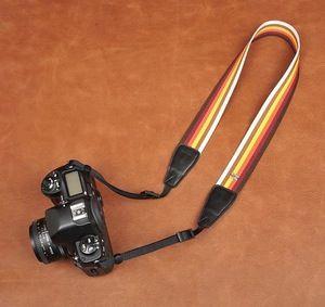 Rainbow Stripe Strap DSLR Camera Strap Canon/Nikon Camera Strap DSLR Camera Strap 8244