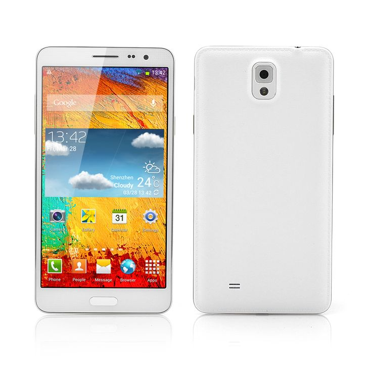 5.7 Inch Octa-Core Android Phone (1.7GHz CPU, 8MP Rear Camera, White)