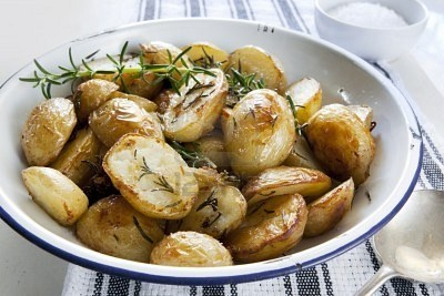 baked rosemary potatoes