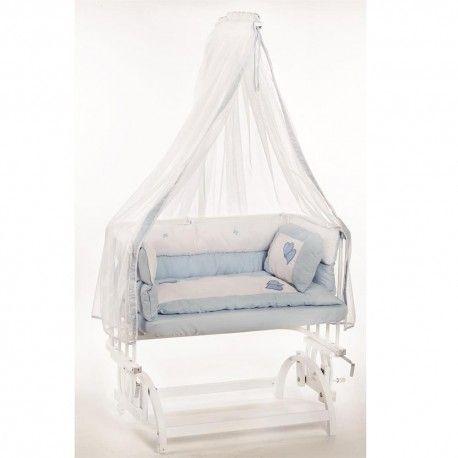 Baby Tech 103 Anne Yanı Beyaz Mavi