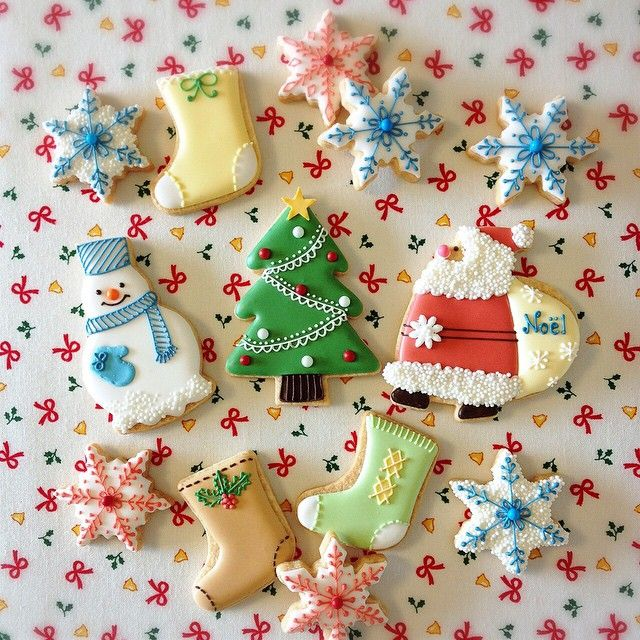 Christmas Cookie#icingcookies#sugarcookies #アイシングクッキー#クリスマス