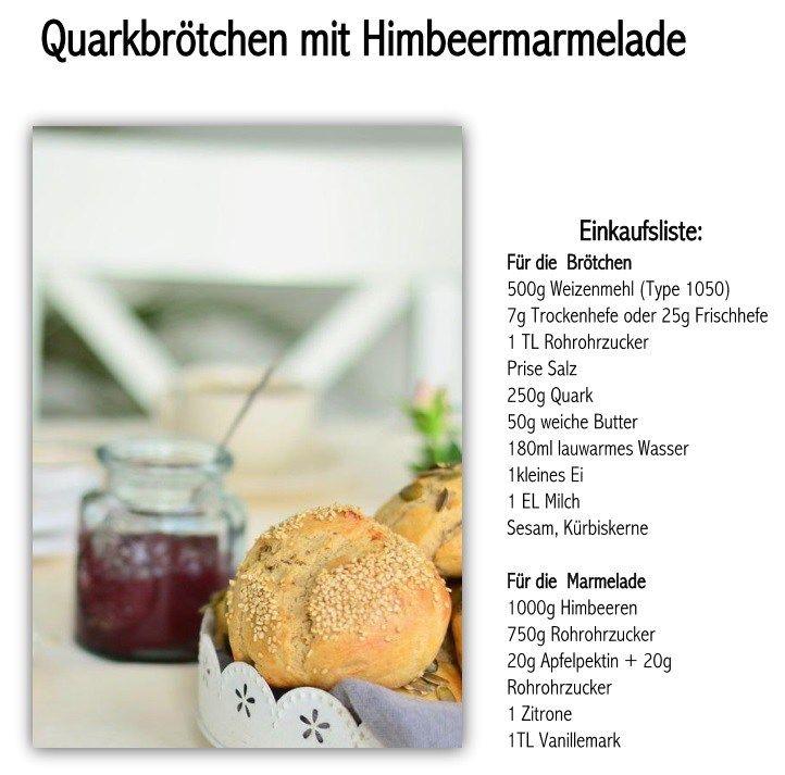 Breakfast Rolls - Quarkbrötchen - Frühhstücksbrötchen