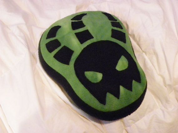 Thresh Pillow League Of Legends by PrinsKeep on Etsy