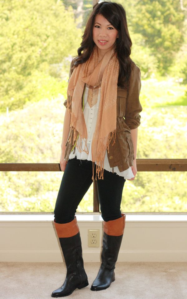 Outfits with Riding Boots | of casual boots that i d wear with weekend or errand running outfits ...