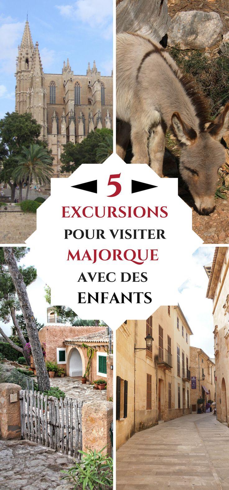 Que voir à Majorque qui pourrait plaire à vos enfants ? Nous vous conseillons 5 lieux qui plairont à toute votre petite famille ! #Espagne #Majorque #Voyage #Famille