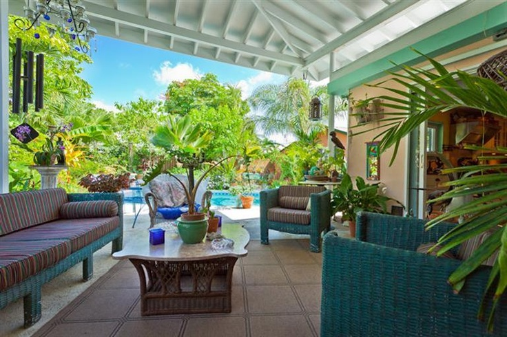Key West Patio Covered Entertaining Space Open Air
