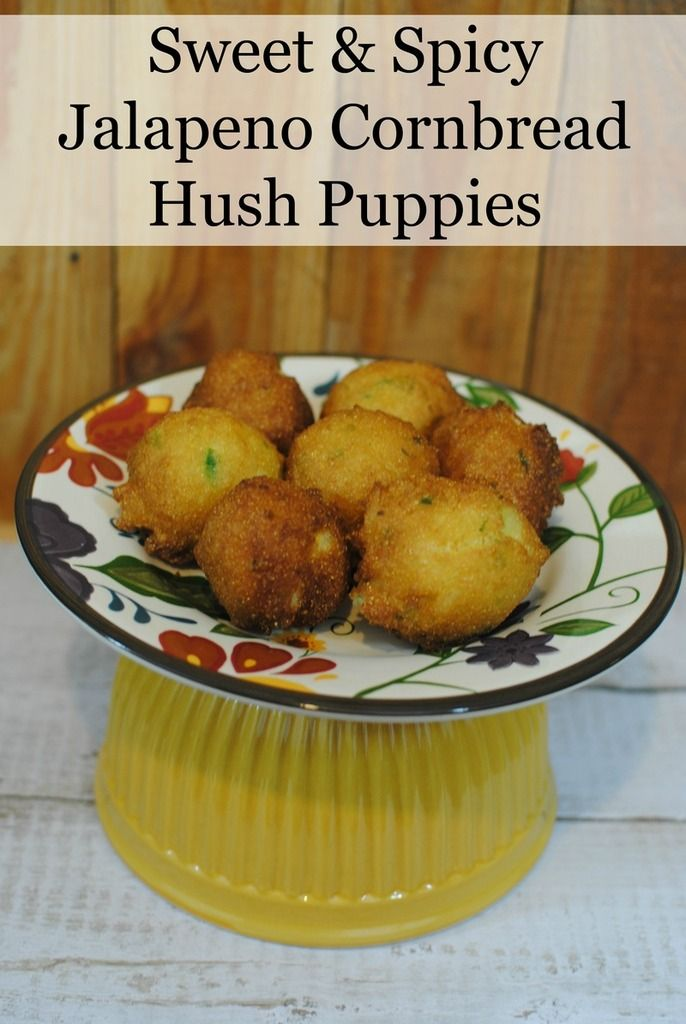 Looking for easy recipes with a bit of kick? Try our sweet & spicy cornbread hush puppies, made simple with Martha White Baking Mixes! They're so good! #AD