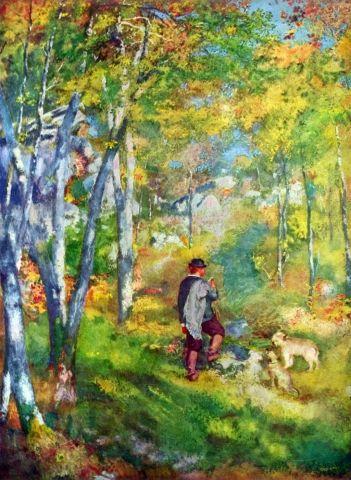 KPIX | Giovane uomo nella foresta di Fontainebleau