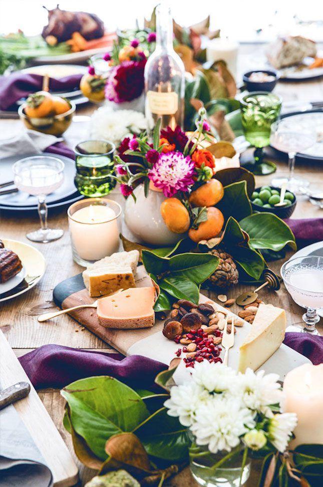 60 Thanksgiving Decoration Ideas Thatll Make Turkey Day Picture Perfect via Brit + Co