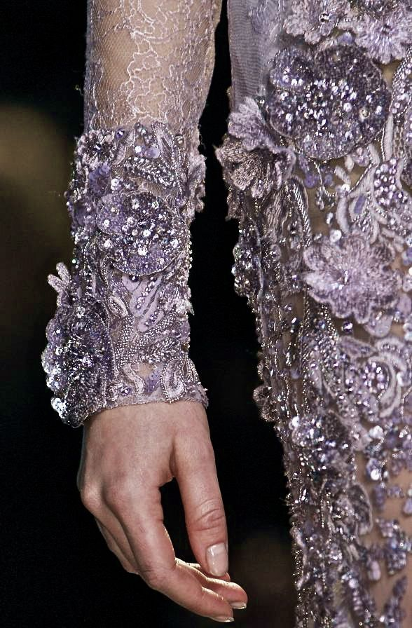 notordinaryfashion:  Elie Saab Haute Couture - Detail