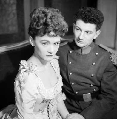 Daniele Delorme (ici avec Yves Robert dans les années 50) est décédée à Paris à l'âge de 89 ans.