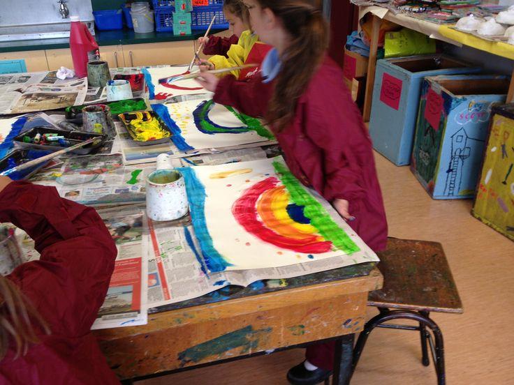 Painting Rainbows 2013