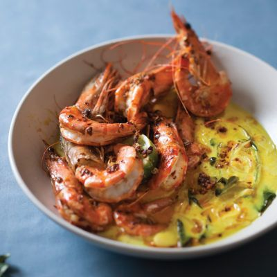 Taste Mag | Spicy prawns in coconut sauce @ https://taste.co.za/recipes/spicy-prawns-in-coconut-sauce/
