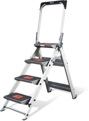 Little Giant Little Jumbo Safety Ladder with Bar    http://dailydealfeeds.com/shop/little-giant-little-jumbo-safety-ladder-with-bar/