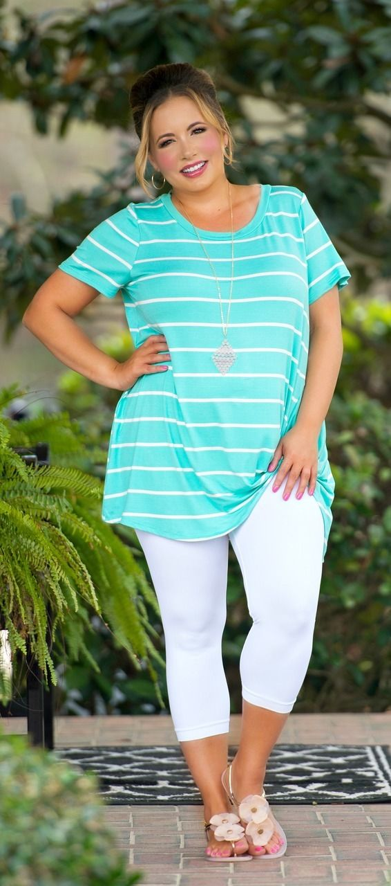 Knot Your Average Girl Top - Mint - Perfectly Priscilla Boutique