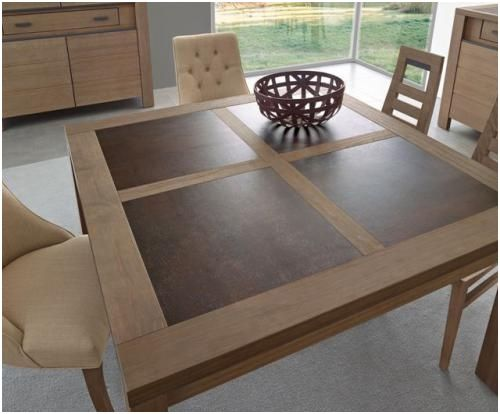 14 Creatif Table Carree Avec Rallonge Gallery