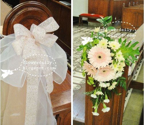 Church Pew Wedding Decoration Ideas: 23 Best Images About Church Decor On Pinterest