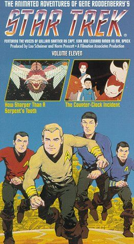 Star Trek - The Animated Series Vol. 11: How Sharper Than A Serpents Tooth/ The Counter-Clock Incid @ niftywarehouse.com #NiftyWarehouse #StarTrek #Trekkie #Geek #Nerd #Products