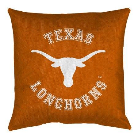 Texas UT Longhorns NCAA Locker Room Bed/Sofa/Couch/Toss Pillows