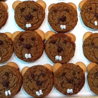 Groundhog snacks! Make for next week?Allisa Easter Jeanette Mackey, G fantastic Brewer, DeeDee Phelps