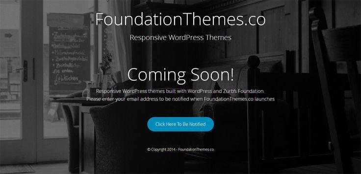 Introducing FoundationThemes.com - ThemeAwesome.com