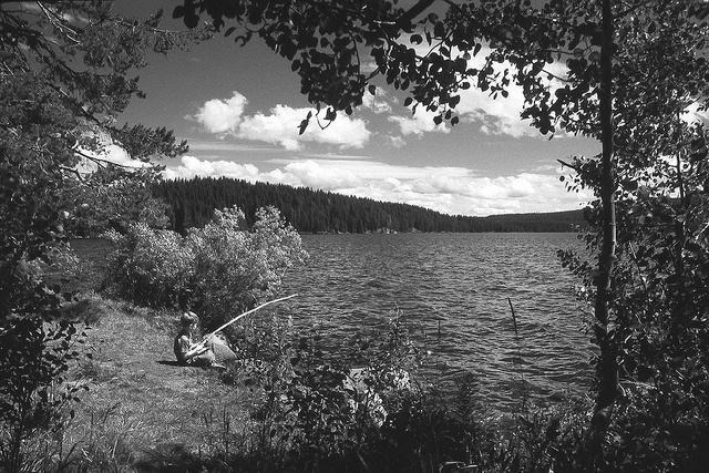 17 best images about oregon black white on pinterest for Fish lake oregon