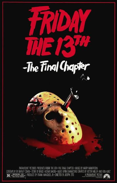 70's 80's Films: Friday the 13th: The Final Chapter (1984)