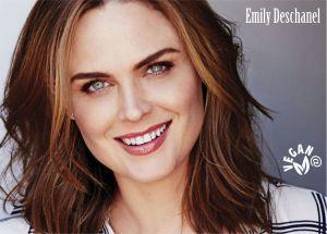 Emily Deschanel - Actriz - Vegana