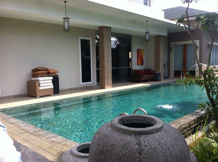 Pool, House at Jakarta