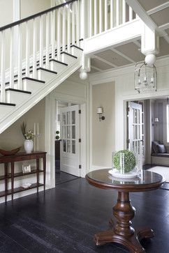 Wall Morris Design | New England Style House | Kerry, Ireland traditional entry