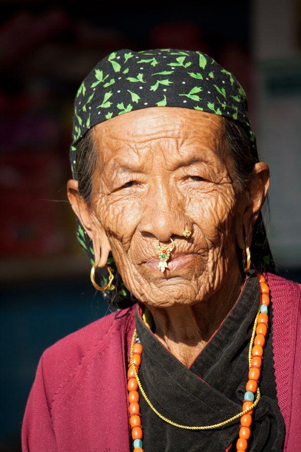 Femme newar (Népal)