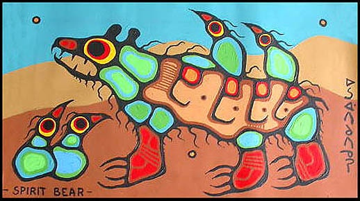 NORVAL MORRISSEAU BLOG: Norval Morrisseau Painting Styles (Part I)