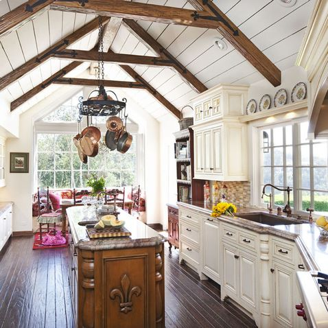 Decorative Ceiling Collar Ties Design Ideas, Pictures, Remodel, and Decor - page 7