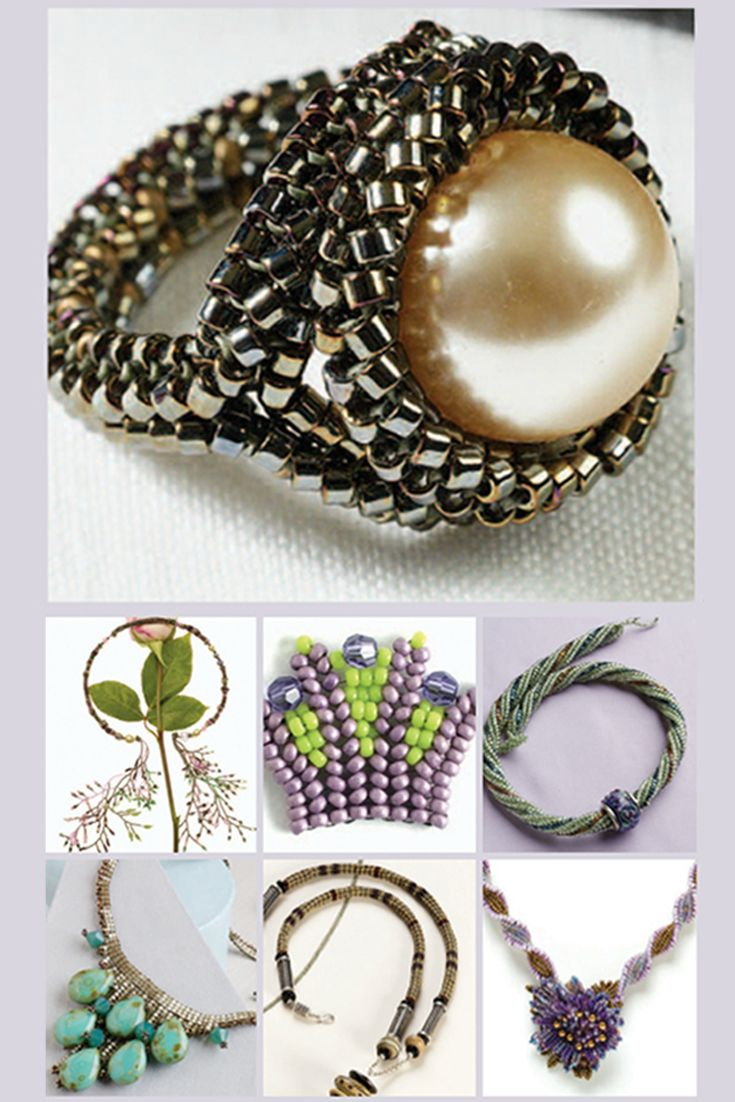 Take your beading to the next level with the #herringbone stitch using these 7 FREE patterns! #beading #diyjewelry