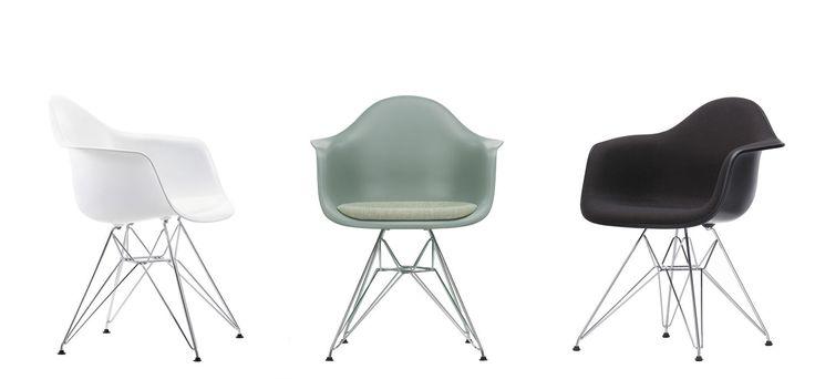 Vitra DAR  De organisch gevormde zitschaal met geïntegreerde armleuningen van de Plastic Armchair biedt een superieur zitcomfort. Door de ruime keuze aan onderstellen kunnen de stoelen in verschillende omgevingen worden ingezet, van de eetkamer of het thuiskantoor tot en met de tuin. De schalen zijn leverbaar in een groot aantal kleuren en met verschillende bekledingen, zodat het mogelijk is om door de combinatie van de schalen en de onderstellen de stoel samen te stellen die perfect…