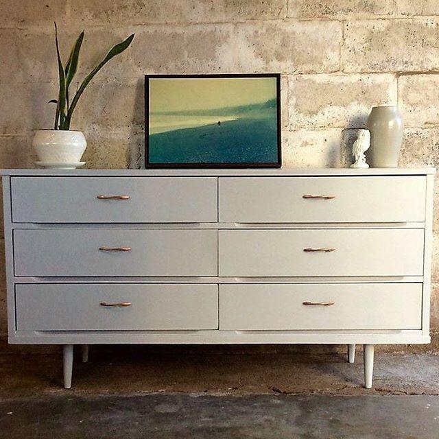 1000 images about painted mid century modern furniture mcm on pinterest vintage dressers. Black Bedroom Furniture Sets. Home Design Ideas