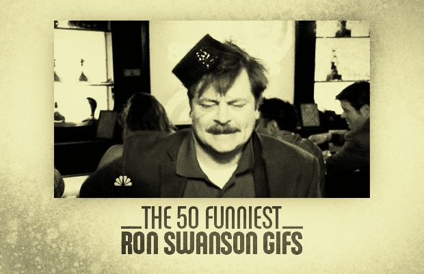 The 50 Funniest Ron Swanson GIFs