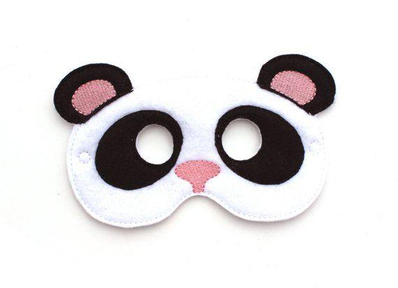 Kids felt Bear Mask Pretend Play Costume Adult Bear Mask