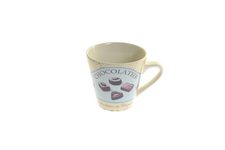 Serendipity Homewares Chocolatier stoneware mug - 250ml - £6.95