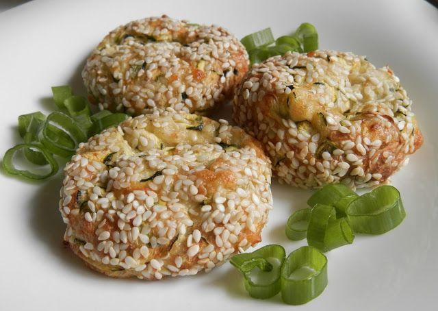 hogymegtudjuknézni: Cukkinis-sajtos puffancs – sütőben, zsiradék nélkül sütve