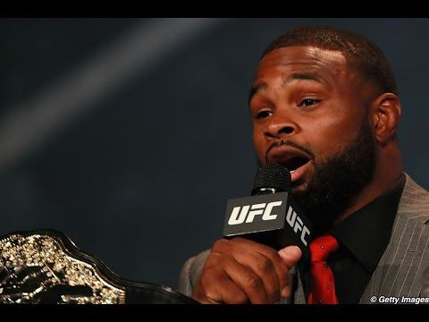 MMA Tyron Woodley wants to make sure you have his back on Saturday night