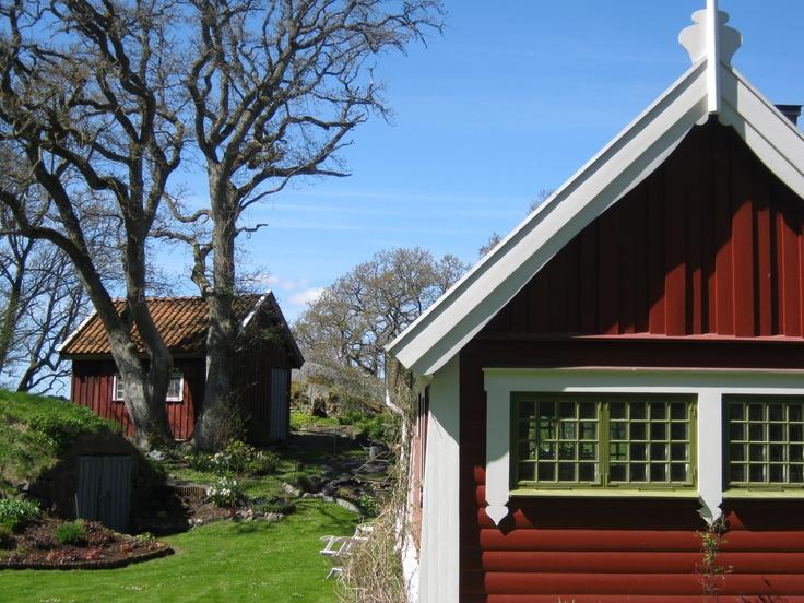 In der Nähe von Kungsbacka Schweden