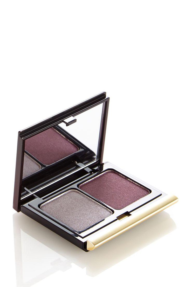 Pretty Plum & Silver Shimmer!  Kevyn Aucoin Eyeshadow Duo