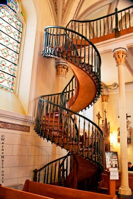 Best The Miraculous Staircase The Helix Staircase At Sisters 400 x 300