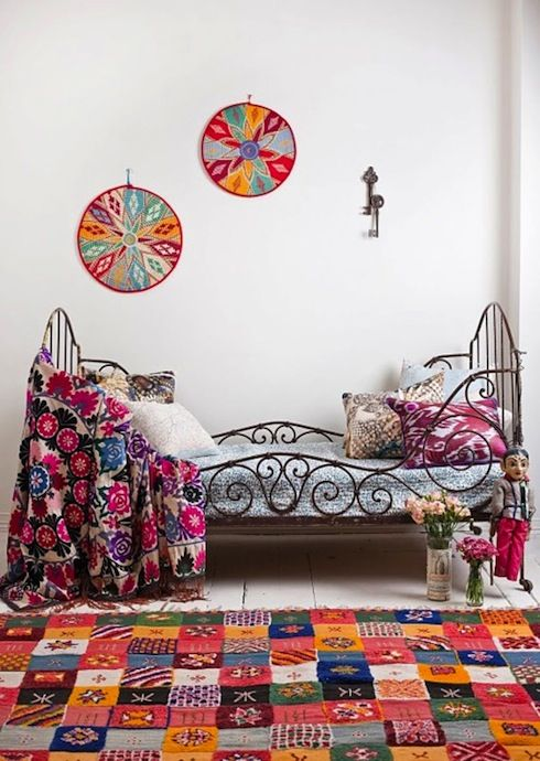 Vintage Bohemian Bedrooms Colorful Boho Chic Vintage Bedroom Furniture And Decorating Ideas